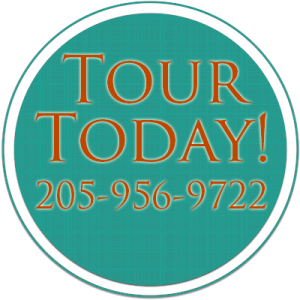 Tour Today! Call 205-956-9722
