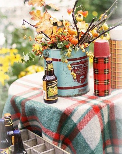 rustic tailgate party ideas