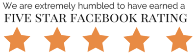5 Star Facebook Rating