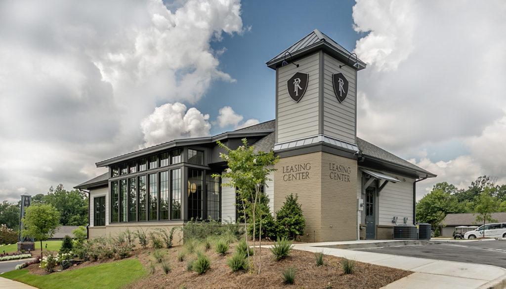 Leasing Center Exterior