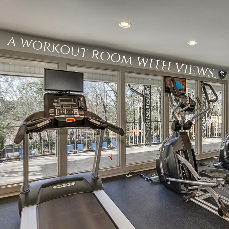 Work out Room with Views