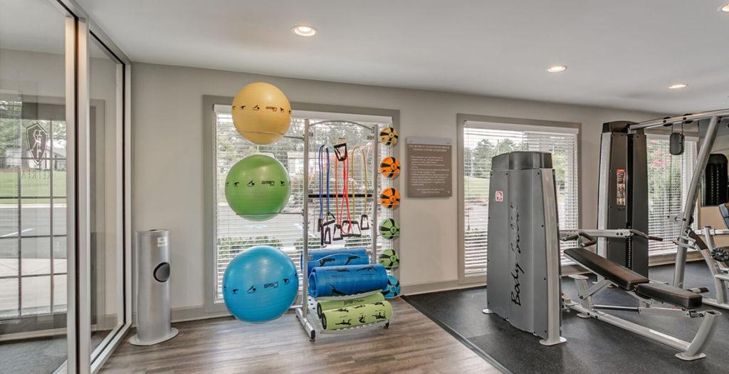 Highland Fitness Area