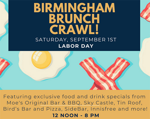 Birmingham Brunch Crawl