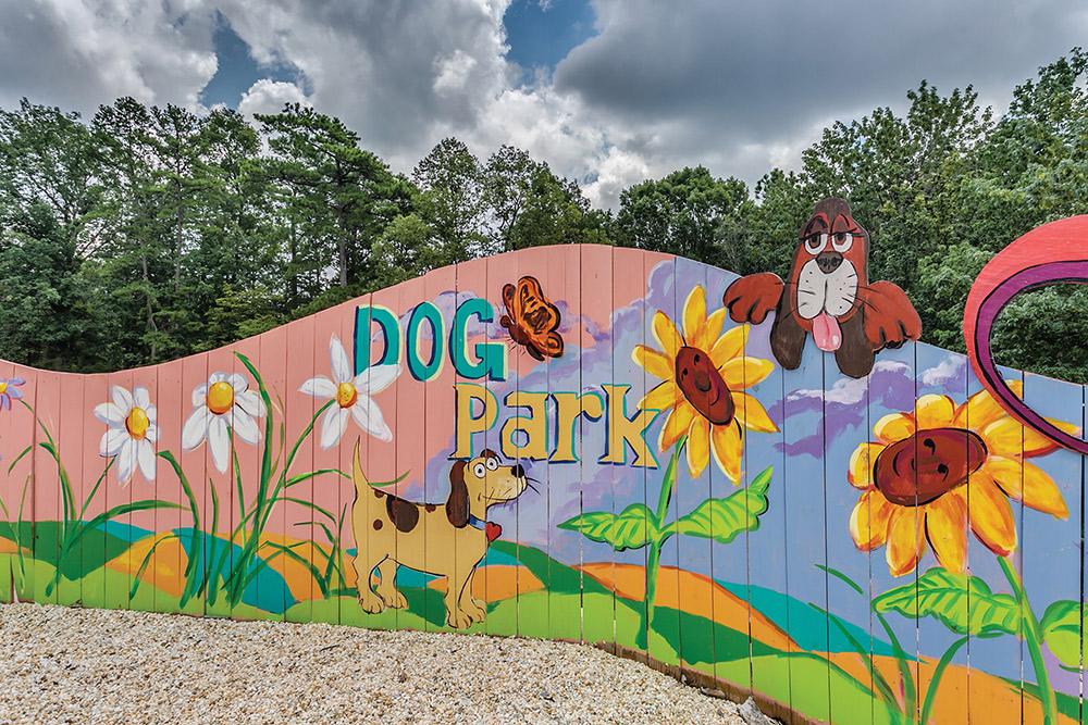 Bark Park at Retreat at Mountain Brook