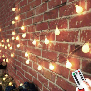 patio string lights