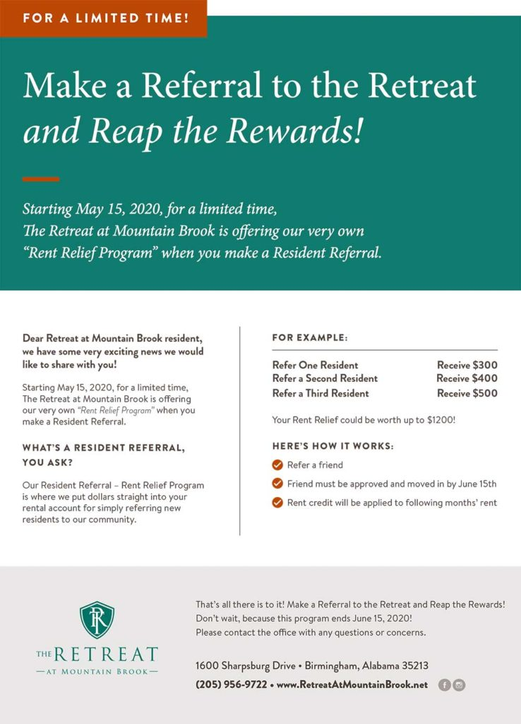 Make a Referral and Reap the Rewards!